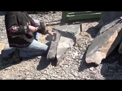 La fabrication de l'ardoise