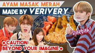 VERIVERY masak Nasi Tomato dan Ayam Masak Merah! | MY DOSIRAK EP02