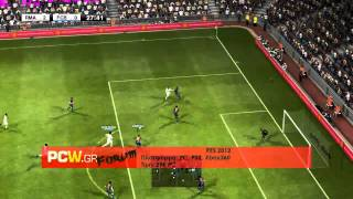 PES 2012 - Gameplay PC HD Radeon 6870