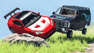 Extreme Car Crashes Compilation #196 - BeamNG Drive | CRASHdriven