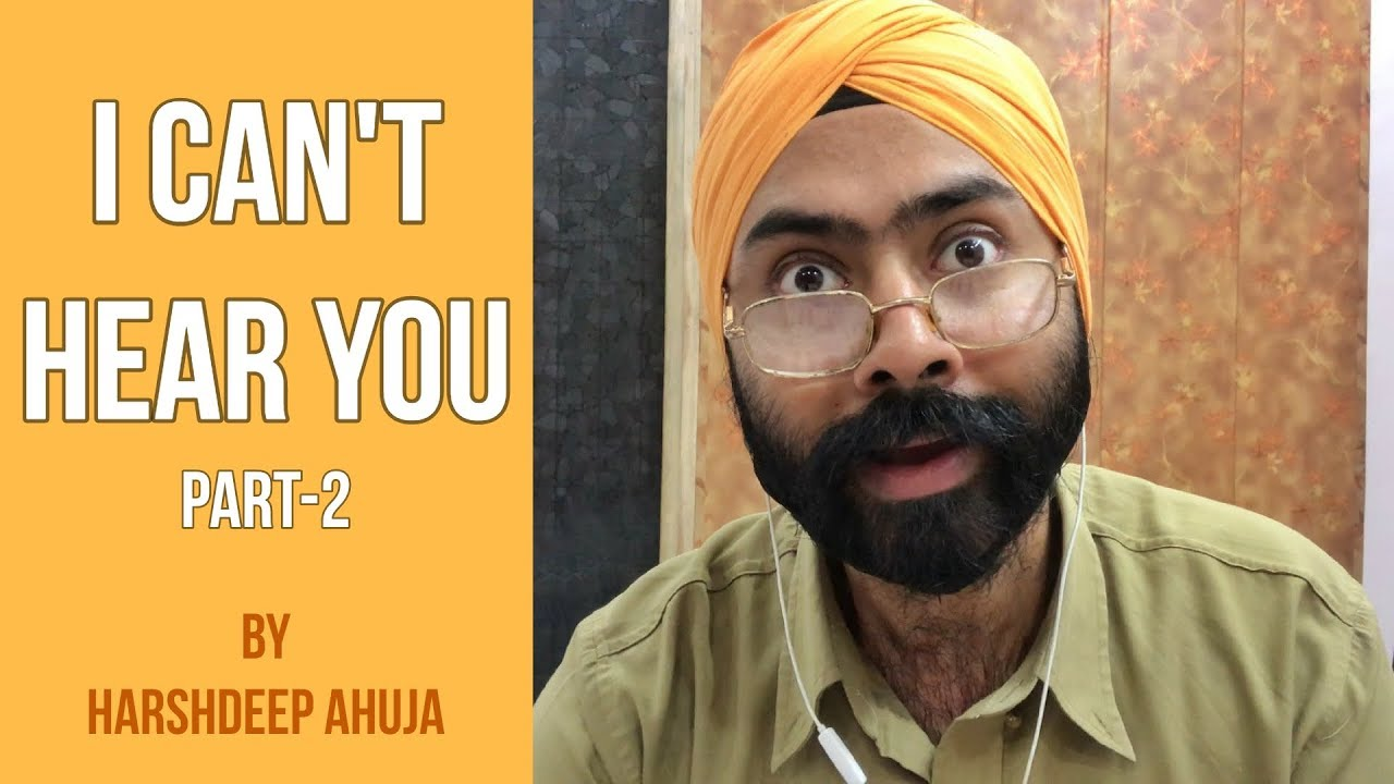 I Can't Hear You - 2   Harshdeep Ahuja - YouTube