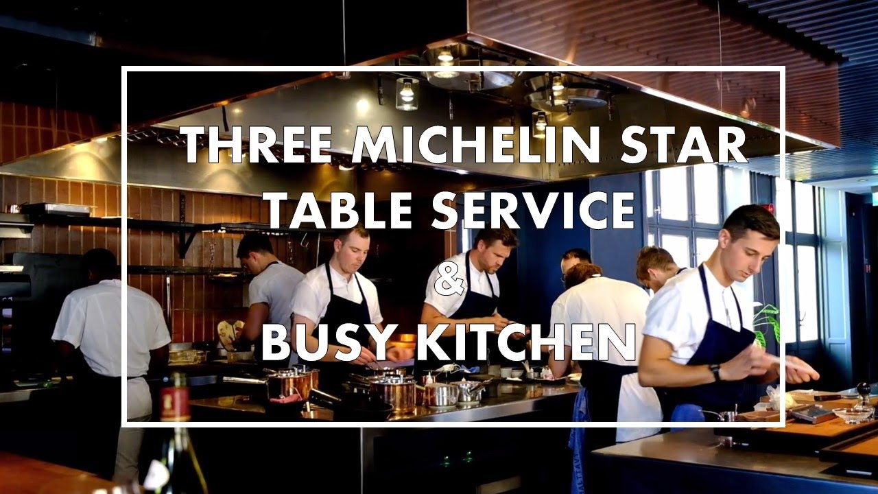 Busy Kitchen And Table Service At Frantzen An Incredible 3 Michelin Star Restaurant In Stockholm Youtube