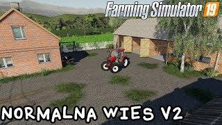 ️Prezentacja mapy - Normalna Wieś V2 | Farming Simulator 19 | NetNar