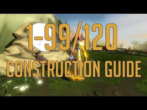 Runescape 3 - 1-99/120 Construction guide 2018