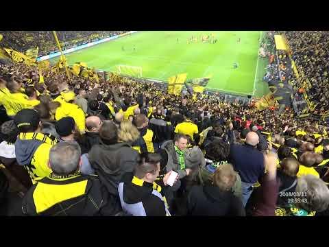 Borussia Dortmund vs Eintracht Frankfurt Südtribune party 1