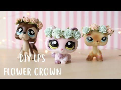 DIY LPSDoll Flower Crowns!