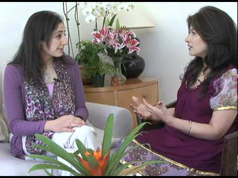 """Women Now TV"" interviews Isha yoga teacher, Namath,  in Los Altos hills, Bay Area"