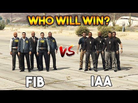 GTA 5 ONLINE : FIB VS IAA (WHO WILL WIN?)