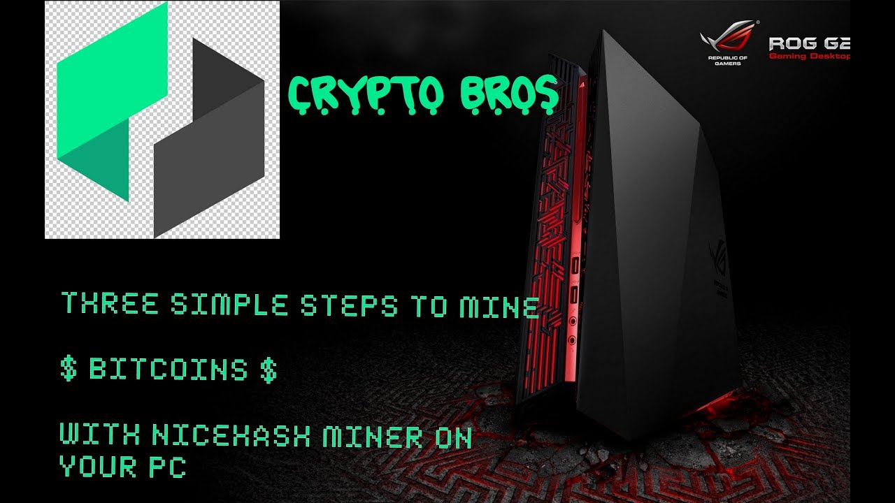 How to mine bitcoin on your home pc with just 3 steps youtube how to mine bitcoin on your home pc with just 3 steps ccuart Choice Image