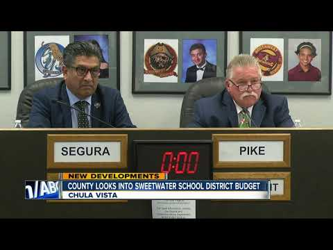 Possible fraud probe into Sweetwater School District budget scandal