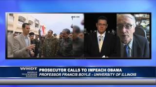 Prosecutor Calls to Impeach Obama - An Interview with Professor Francis Boyle