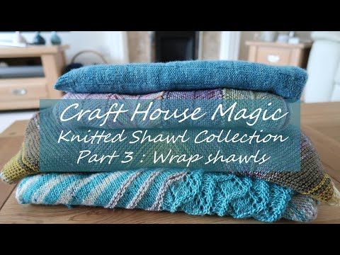 Knitted Shawl collection: Part 3: Wrap Shawls