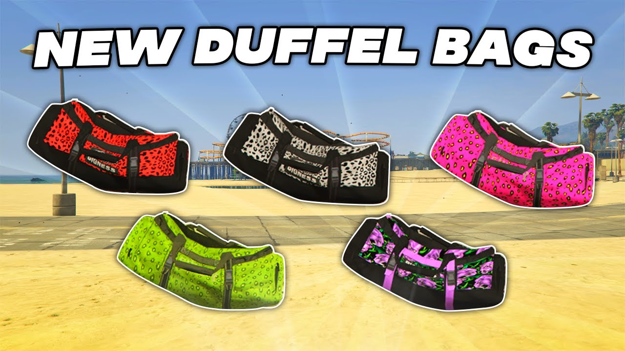 Download GTA 5 ONLINE - *SIMPLE* HOW TO GET NEW COLORED DUFFEL BAG GLITCH!! *SOLO* (GTA 5 Glitches)
