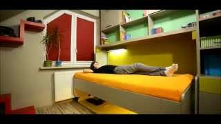 Magic Multifunctional Wall Bed With Desk