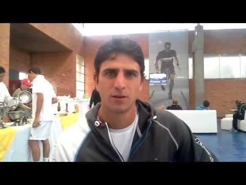 Roberth Farah Saludo Tennis For Colombia 2013
