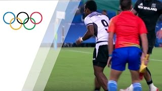 Fiji bounces back to beat New Zealand in Rugby Sevens quarterfinals