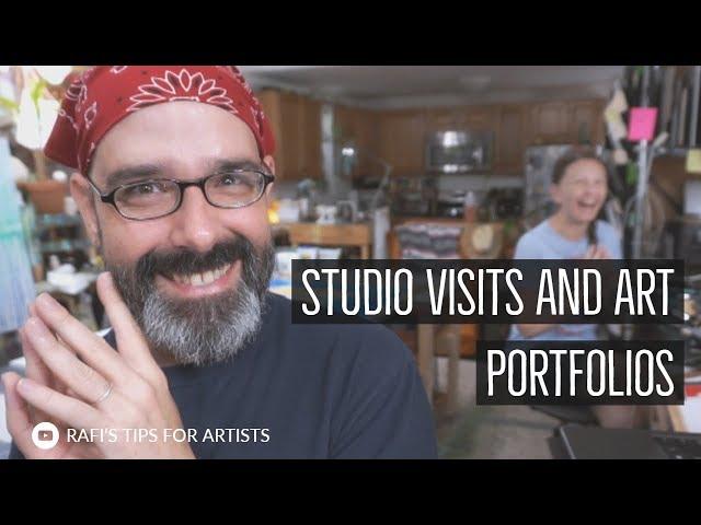 Art Studio Visits And Art Portfolio Meetings
