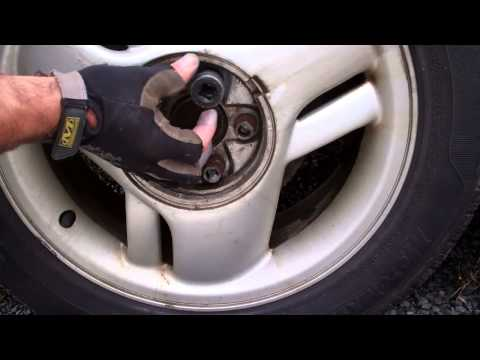 How to remove stripped wheel nuts using a reverse threaded socket