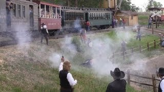 Wild West Days Train Robbery
