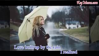 Em gái mưa karaoke English version (tone nữ)