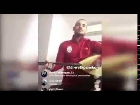 Wesley Sneijder - Fener Ağlama Saz Çalarak Söylüyor