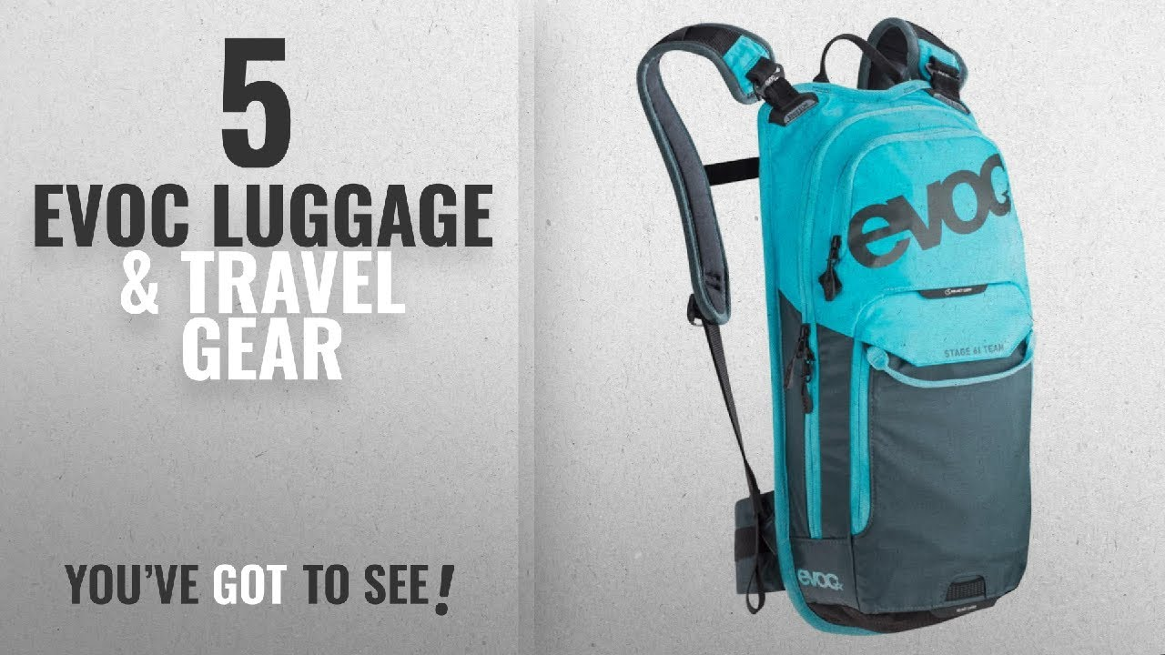 8f083427d869 Top 10 Evoc Luggage   Travel Gear  2018   Evoc Stage 6l Team Neon ...