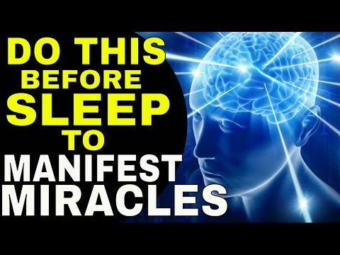 3 Ways to MANIFEST WHILE SLEEPING & Reprogram Your Subconscious Mind| LAW OF ATTRACTION | The Secret