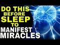 3 Ways to MANIFEST WHILE SLEEPING & Reprogram Your Subconscious Mind  LAW OF ATTRACTION   The Secret