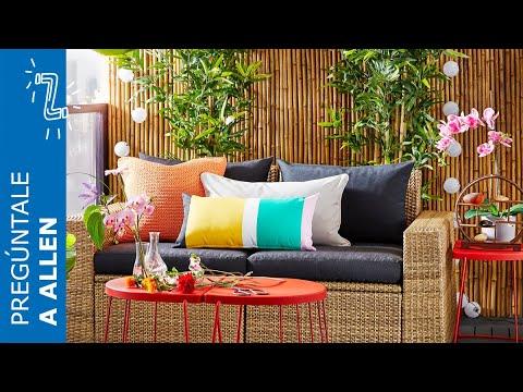 Cómo Decorar Terrazas Y Balcones Ikea