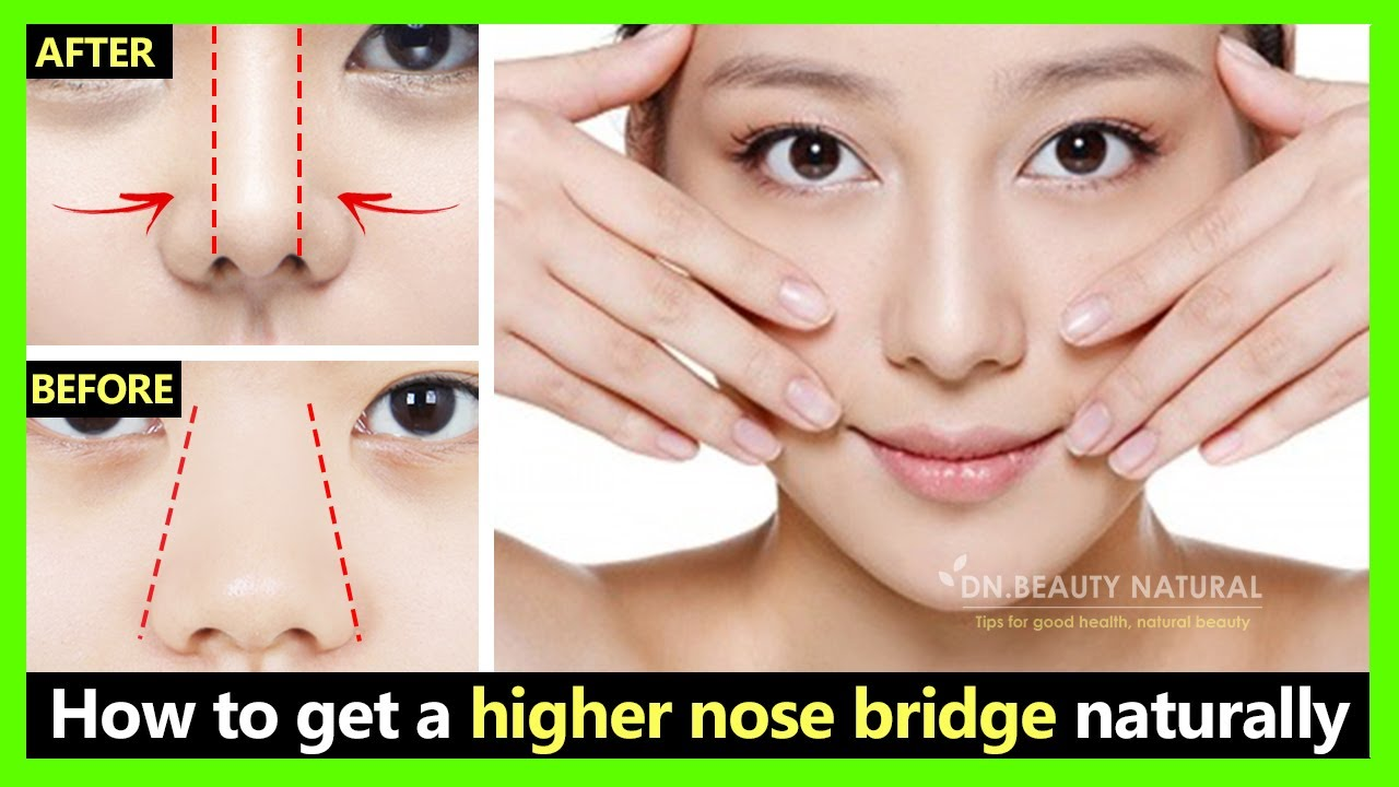 How to reduce big nose size, nose fat to small,slim,straight