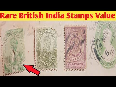 Rare British India Stamps Value | Top Most Valuable British India Postage Stamps George V Value Sale