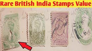 Value rare british stamps 10 Most