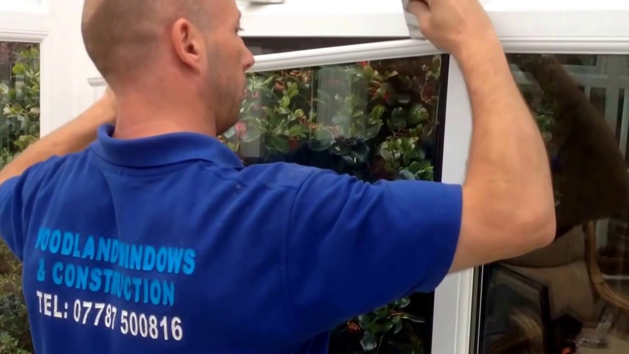 how to replace glass in a double glazed window youtube