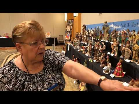 Doll Exhibit: From East To West: Native American Dolls