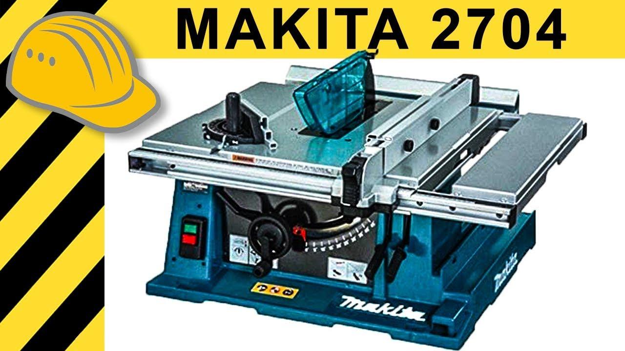 makita 2704 tischkreissäge test - die bessere bosch gts 10 xc