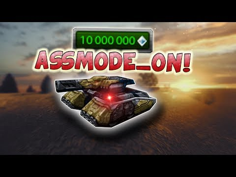 Tanki Online Assmode_ON in TEST SERVER!!   Dropping Golds By Missions