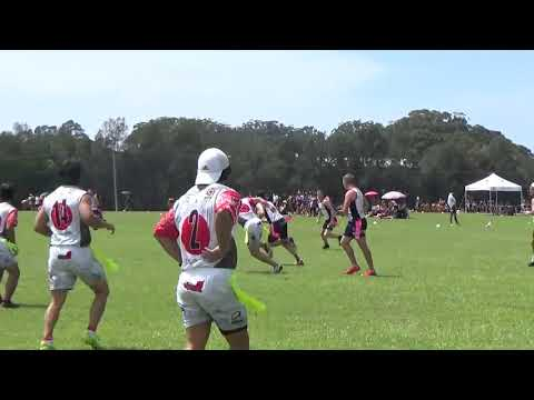 Tag Rugby World Cup 2018 - GB vs Japan (part 1)