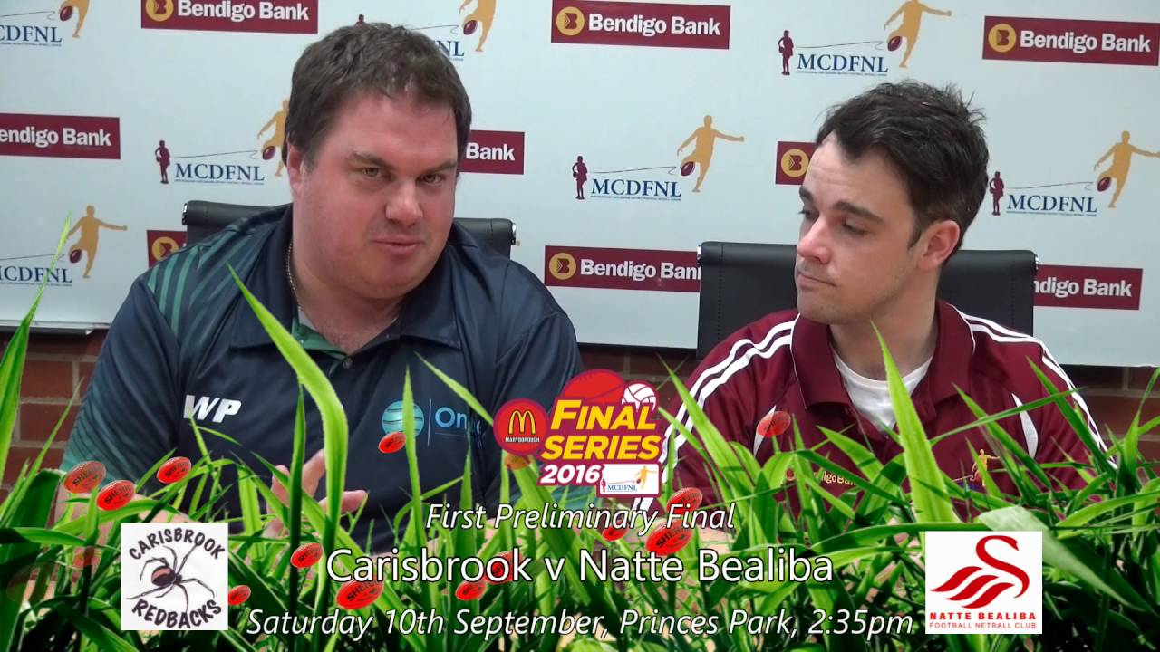 2016 MCDFNL Footy Show - Preliminary Final