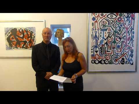 Kunsthaus Schöne zeigt, Jörg Immendorff trifft AR.Penck.eröffnet Dr.Stephanie Eckhardt