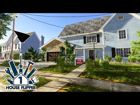 House Flipper Game - Part 1 - First House