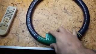 Размагничивание кинескопа магнитной петлёй.