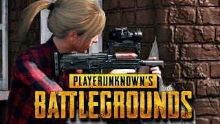 Playerunknown's Battlegrounds Gameplay German - Siegertypen am Start
