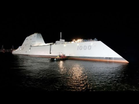 Take a Mind blowing Tour of the U S  Navy's Newest, Largest and Most Futuristic Destroyer