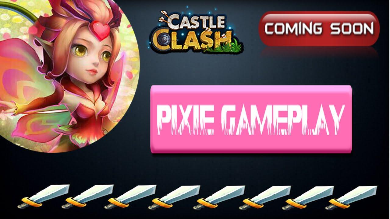 Castle Clash Pixie