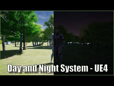Advanced Day and Night Cycle - Unreal Engine 4 Tutorial