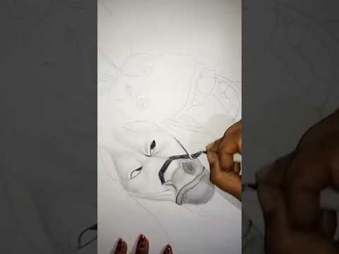 Pencil shading  {This pencil work will make your shading look as smooth as butter }