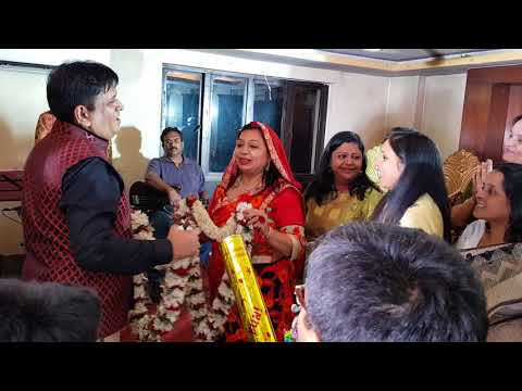 25th Marriage Anniversary Celebration -  Have you seen anybody so happy on his 25th Anniversary