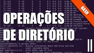 Bash e Terminal Linux  - II - Operações de Diretório