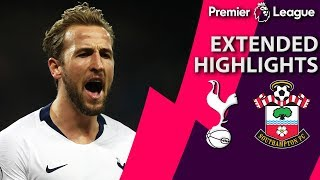 Tottenham v. Southampton I PREMIER LEAGUE EXTENDED HIGHLIGHTS I 12/5/18 I NBC Sports