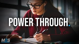 POWER THROUGH - New Motivational Video for Success & Studying
